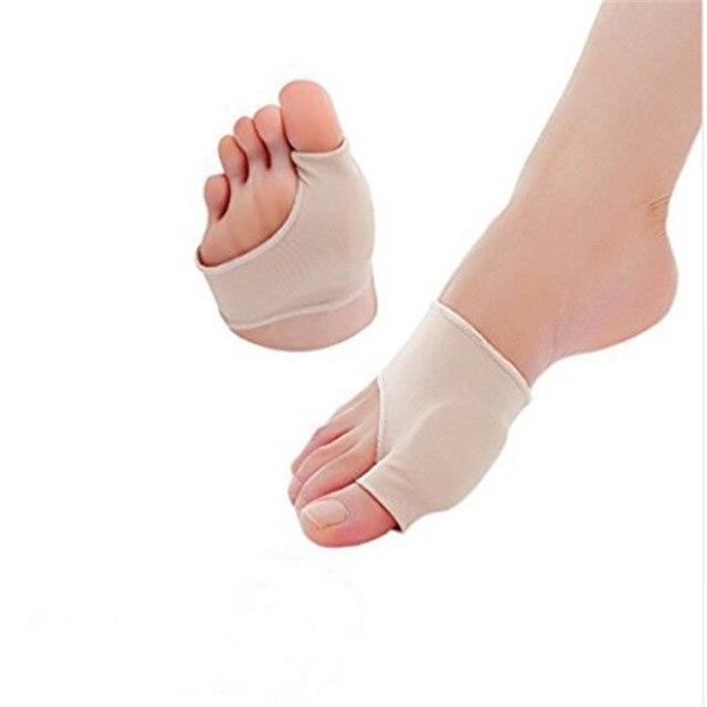 2 個バニオン補正ゲルパッドストレッチナイロン外反母趾プロテクターガードトーセパレーター整形外科用品