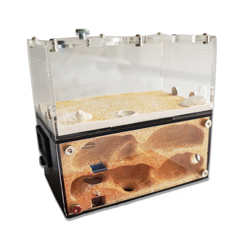 Acrylic Ant Farm Spliceable Ant Nest with Intelligent Temperature Control Concrete Ant House Anthill font b