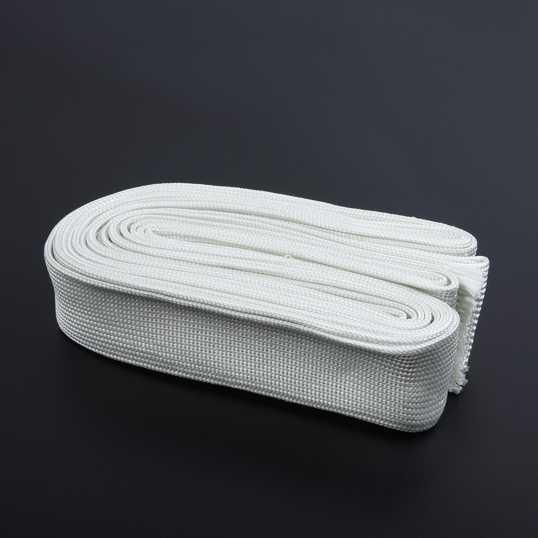 Webasto/Eberspacher 히터 용 22mm 및 24mm 배기 파이프 유리 섬유 열 호스 절연 배기 지연 커버 내구성