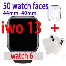 Смарт-часы IWO 13 40 мм 44 мм серия 6 Bluetooth пульсометр ЭКГ Смарт-часы iwo13 для IOS Android PK iwo 12 pro w46 kf88 11