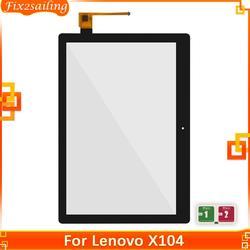 Сенсорный экран для Lenovo YOGA TAB E10 TB-X104 TB-X104F TB-X104L TB X104 X104L X104F сенсорный экран Сенсорная панель дигитайзер стекло 100% тестирование