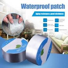 Waterproof Self-adhesive Tape Aluminum Butyl Foil Heat Shield for Roof Pipe Repairing LB88