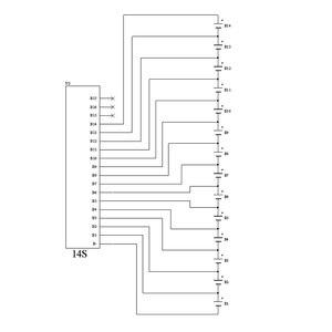 Image 5 - 1.2A Balance Li Ion Lipo Lifepo4 Lto Lithium Batterij Actieve Equalizer Balancer Energie Transfer Bms 14S