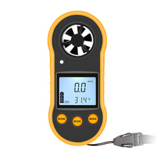 цена на Anemometer LCD Display Air Temperature High  Durable Wind Speed Meter Weather Station Handheld Measuring Instrument