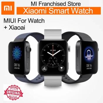 NEW xiaomi smart watch MIUI For Watch NFC Snapdragon 3100 gps AMOLED HD 1.78'' Screen 570mAh Call Internet Sport Waterproof