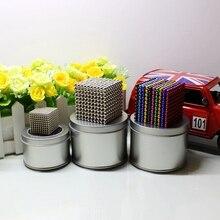 3 мм 4 мм 5 мм магнитные кубики магниты блоки 216 шт 512 шт 1000 шт Шарики головоломка волшебный куб строительные игрушки для подарков