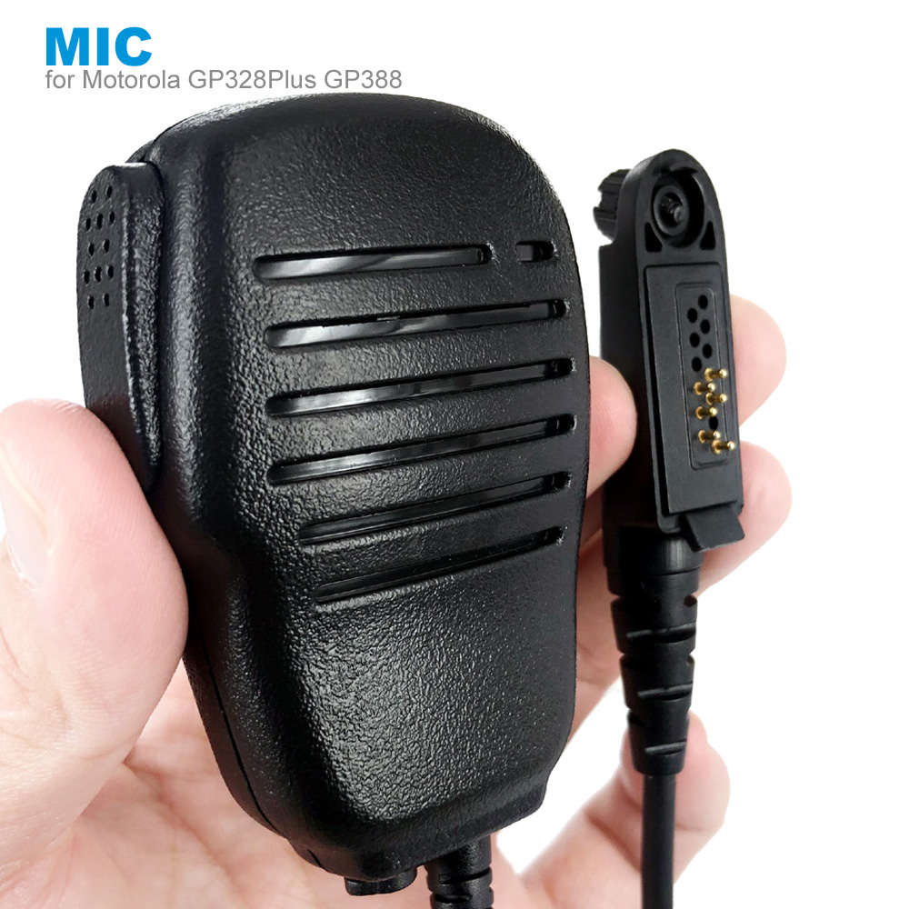 New Speaker Mic Microphone For Motorola GP328Plus GP344 GP388 Plus GP366R GP644 GP688 GL2000 Walkie Talkie Two Way Radio