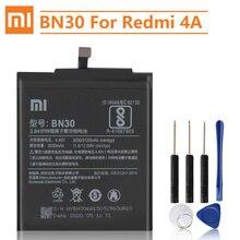 Оригинальный сменный аккумулятор Xiao Mi BN30 для Xiaomi Mi Redrice Hongmi 4A Оригинальный аккумулятор для телефона 3120 мАч