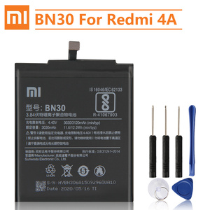 Image 1 - Xiao Mi orijinal yedek pil BN30 Xiaomi Mi Redrice Hongmi 4A otantik telefon pil 3120mAh