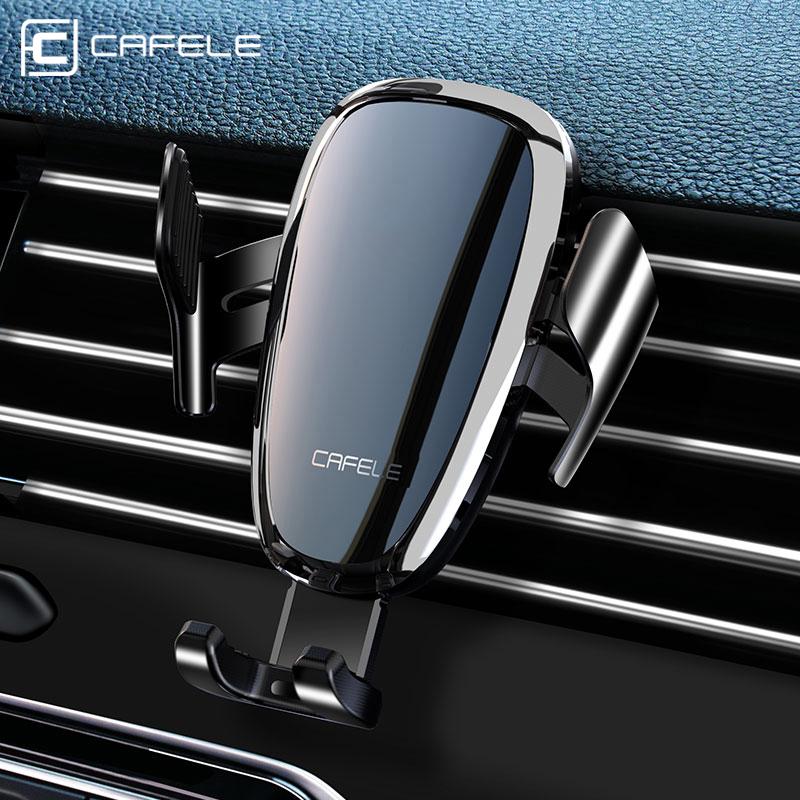 CAFELE Automatic Intelligent Car phone holder stand  Anti power off electric car holder for iphone samsung huawei xiaomi oneplus|Phone Holders & Stands| |  - title=
