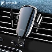 Support pour téléphone Intelligent automatique de voiture de CAFELE, support pour voiture électrique Anti mise hors tension pour liphone samsung huawei xiaomi oneplus