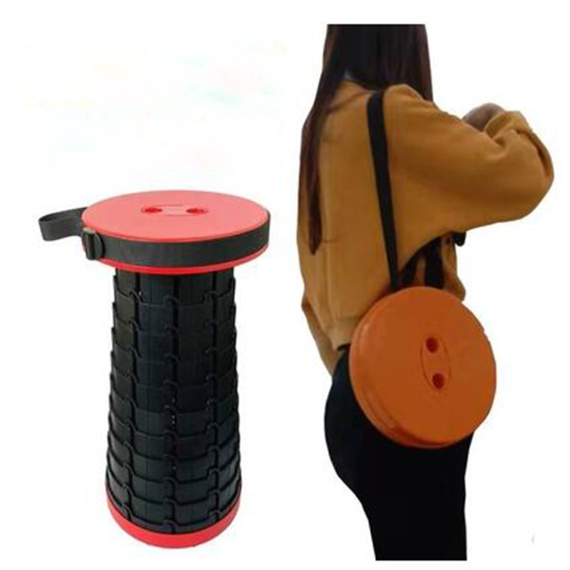 Shopify Dropshipping Foldable Stool Travel ChairRetractable Fishing Chair Outdoor Folding Camping Fishing Stools