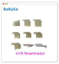 BaRuiLe 10pcs LCD DisPlay FPC Flex Cable cover for iphone 6 6S plus 7 8Plus inner Metal Bracket Clip Holder Wifi Antenna Plate