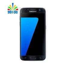Восстановленный разблокированный сотовый телефон Samsung Galaxy S7 US Version G930A/P/V, экран 5,1 дюйма, четырёхъядерный, 4 Гб + 32 ГБ, 4G-LTE Qualcomm820
