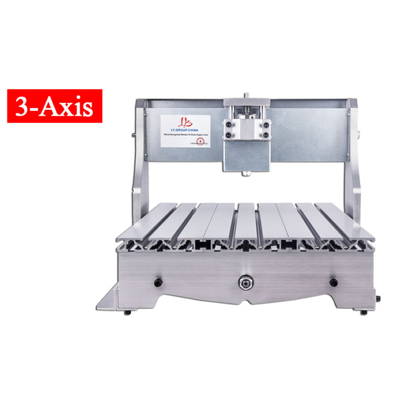 CNC Router frame 3040Z ball screw 3axis cnc machine frame with motor free shipping