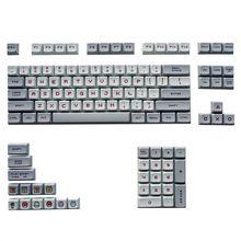 PBT Sublimation Thema XDA Keycap Für GH60 GK61 GK64 84 96 87 104 108 Mechanische Tastatur XDA ball kappe Cartoons persönlichkeit Anime