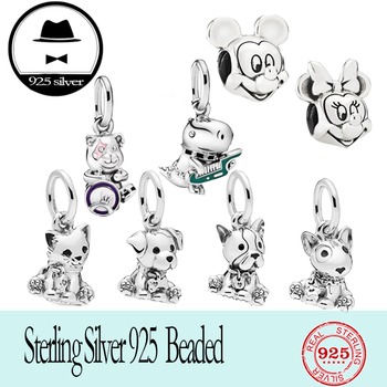 2020 new FIT original authentic 100% 925 sterling silver pan beads for women fashion classic animal series DIY jewelry new japanese original authentic mxs8 50