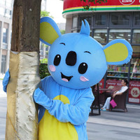 Koala Mascot Costume Suits Cosplay Party Game Dress Outfits Clothing Advertising Promotion Carnival Halloween Adults Christmas