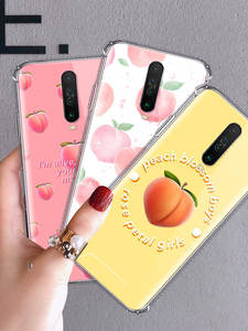 Peach-Blossom-Case Zoom Note-8t Xiaomi Redmi Phone-Shell for 9-pro/Max/8/.. K30 Airbag