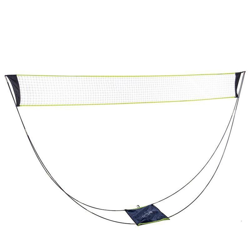 Portable Badminton Net Professional Badminton Training Square Mesh 3 M Volleyball Training Network Outdoor Tennis Net Frame Bag