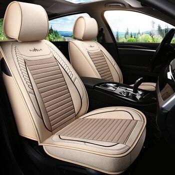 Car Seat Cover Covers for Seat Car Interior Accessories for Nissan Navara D40 Note Pathfinder Patrol Y61 Y62 Primera P12 PULSAR