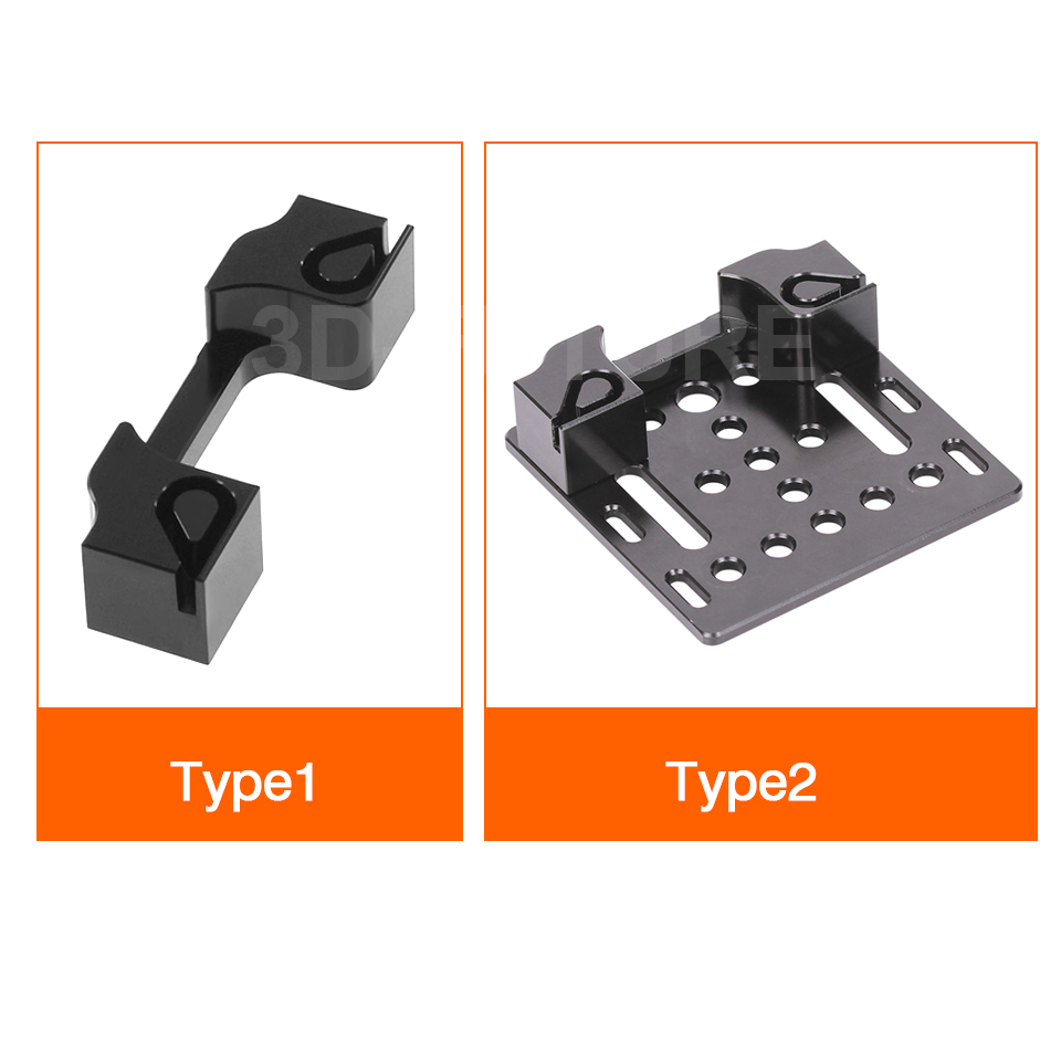 V Slot Openbuilds X axis slider aluminum plate with timing belt buckle buckle 2020 profile board