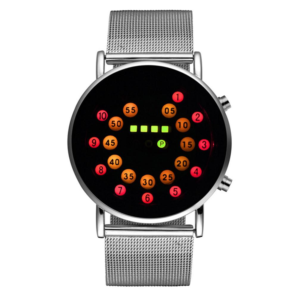 Fashion Watch Men Outdoor Sport Luminous Electronic Digital LED Binary Wrist Watch Reloj Mujer Relogio Feminino Zegarek Damski