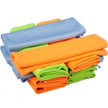 Superfine Fiber Cleaning Towel Absorbable Glass Kitchen Cleaning Cloth Wipe Table Window Car Dish Towel Cloth Multi Color