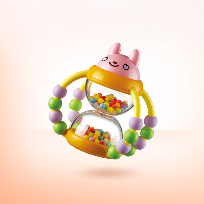 [New Packaging] Auby Basket For Flower Arranging Sand Filter 0-1-Year-Old Toys For Children And Infants Rattle Baby Early Childh
