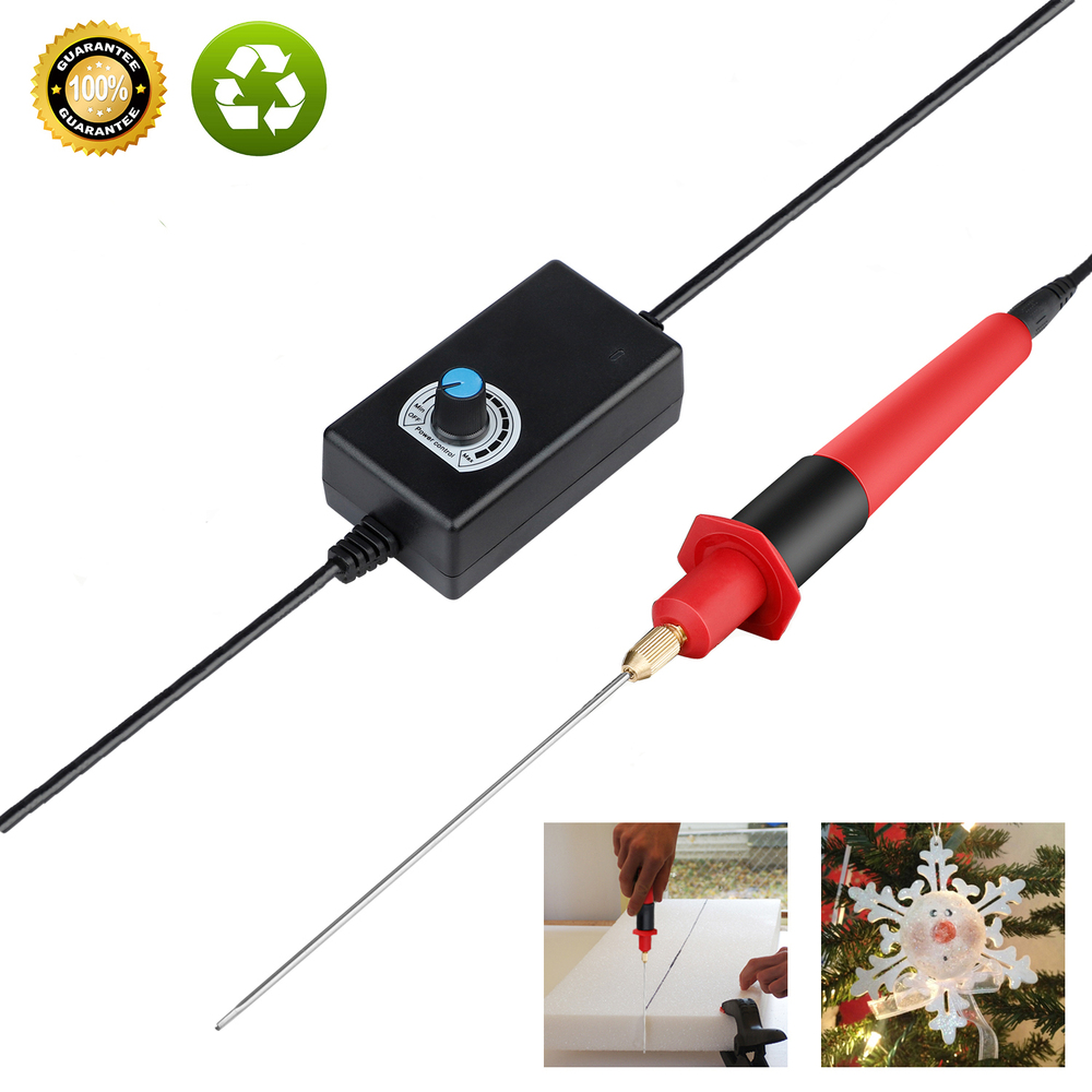 13cm mousse Cutter stylo 24W 110 V-240 V électrique mousse polystyrène découpeuse Portable styromousse Cutter bricolage outils de coupe