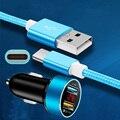 Schnelle Lade Kabel Typ C Auto Ladegerät Kabel Für Samsung S20 S10 S9 Redmi Hinweis 9 9S Pro Ehre 30 20 20i 10i Auto Telefon Ladegerät