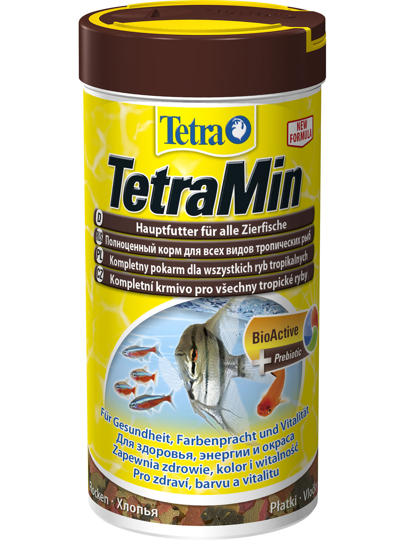 Tetramin (flakes) For All Kinds Of Fish, 250 Ml.