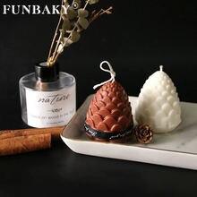 Funbaky 6 Полость сосновая Свеча конус формы для изготовления