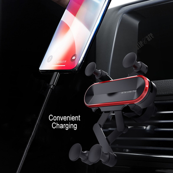 Gravity Invisible Telescopic Car Holder For Phone in Car Air Vent Clip Mount No Magnetic Mobile Phone Holder GPS Stand in Car 1