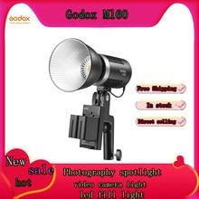GODOX – projecteur de photographie ML60, lumière externe de Film et de télévision pour appareil Photo, lumière de remplissage de Photo Portable réglable Led 60w