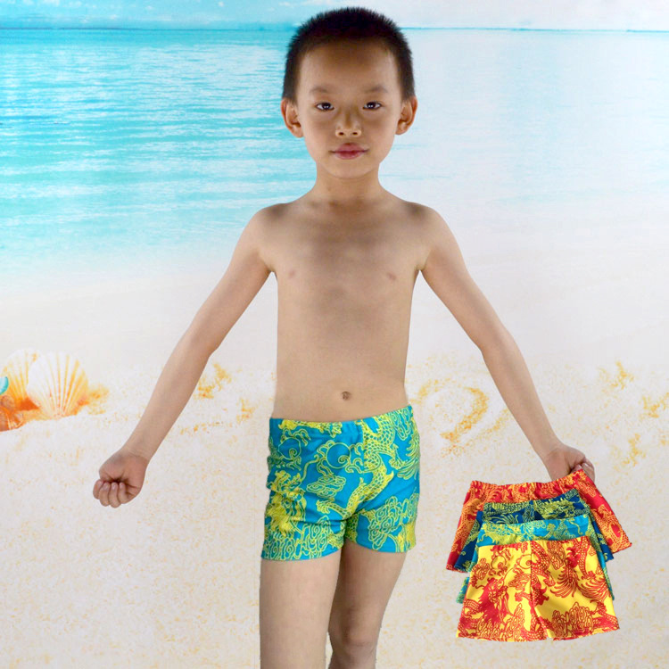Hot Selling Children Swimming Trunks Fancy Boys'swimmingtrunks (Suitable 6-13-Year-Old) Top Grade Crawler 361