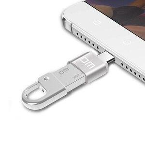 Image 2 - Адаптер DM USB C Type C к USB 2,0, адаптер Thunderbolt 3 Type C, OTG кабель для Macbook pro Air Samsung S10 S9 USB OTG