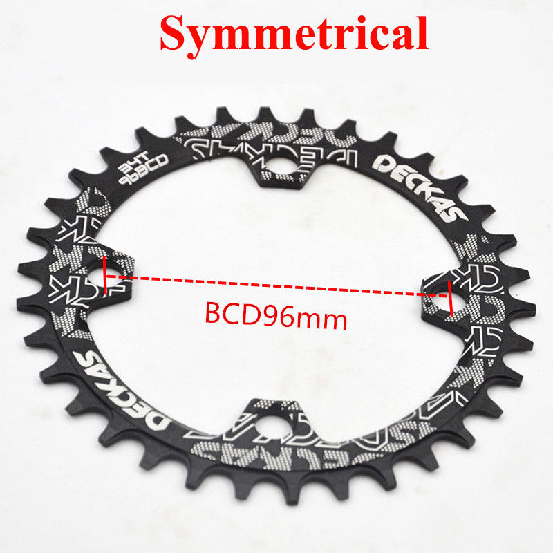 ALI shop ...  ... 32959628064 ... 4 ... Deckas Chainwheel 96BCD 32T/34T/36T/38T Round Oval Narrow Wide Chainring MTB Road Bike Crankset Chainwheel Bicycle Parts ...