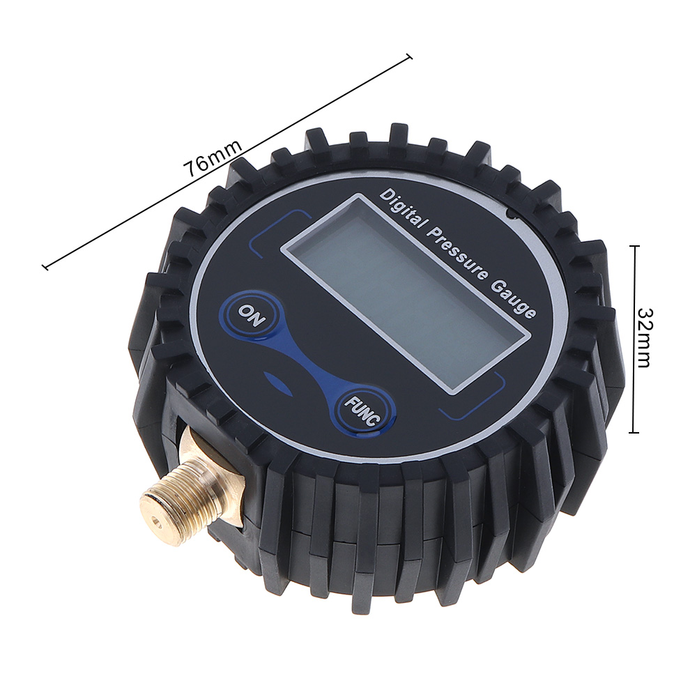 Portable ABS Metal Precision Electronic Digital Tire Gauge with Night Vision and Metal Connector for Car Tire in Tire Pressure Monitor Systems from Automobiles Motorcycles