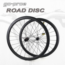 Carbon Wheelset Center-Lock Clincher Road-Disc-Brake Tubular Tubeless 700C 55 60 UD 38