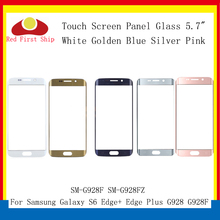 цена на 10Pcs/lot Touch Screen For Samsung Galaxy S6 Edge Plus G928 G928F Touch Panel Front Outer S6 Edge+ SM-G928F LCD Glass Lens