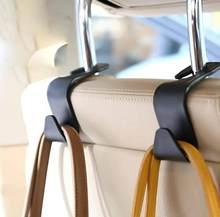Ganchos de respaldo de asiento para coche, colgador de montura de almacenamiento para reposacabezas, para Kia Rio 3 4 K2 K3 K5 K4 Cerato Soul Forte Sportage R SORENTO Mohave OPTIMA