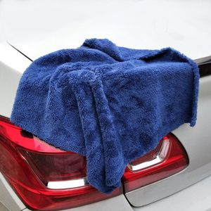 Image 3 - 350GSM Premium Microfiber Car Detailing Super AbsorbentTowel Ultra Soft Edgeless Car Washing Drying Towel 40X40CM Dropshipping
