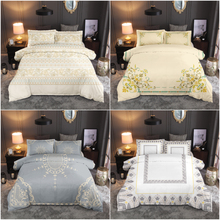 European Style Bedding Set Comfortable Duvet Cover Quilt Bedclothes Pillowcase Queen King