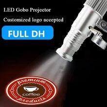 Rotativa personalizada-logotipo que anuncia o projetor exterior impermeável do logotipo do diodo emissor de luz da projeção do gobo para anunciar