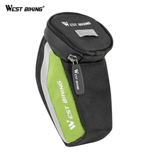 цена на WEST BIKING Cycling Bike Bicycle Saddle Bag For MTB Mountain Road Outdoor Sport Bicycle Trunk Bike Seat Bag Cycling Accessories