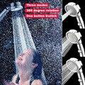Dusche Kopf ABS wassersparbrause filter Hochdruck bad spray Niederschläge Handheld Bade Düse Bad Zubehör