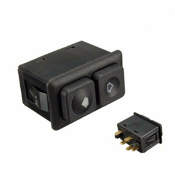 Car Accessories Plastic Switch Window Switch Control 5 Pins OE 61311381205 For BMW E23 E24 E28 E30 image