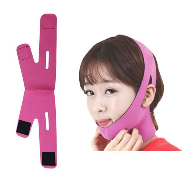 Korean Women Delicate Facial Slimming Bandage Belt V-Face Mask Reduce Double Chin Skin Care Strap Beauty Shaper Face Lift Tools 2