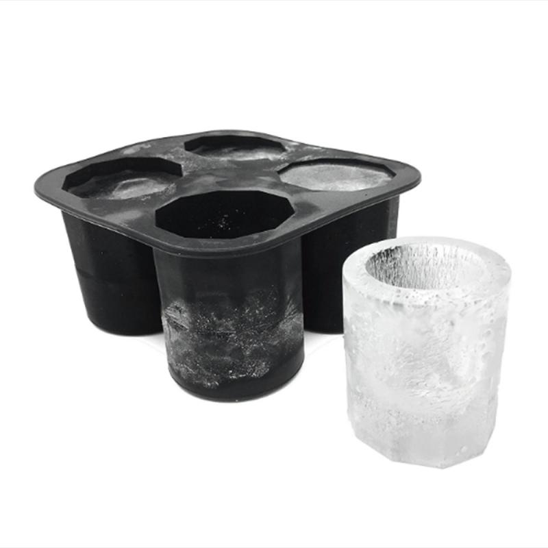 Shooters Ice Cube Shot Glass Freeze Mold Mould Maker Silicone Tray Party Cup OI